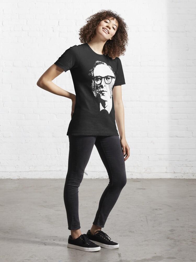 Alternate view of Isaac Asimov Essential T-Shirt