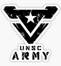 Halo   UNSC Army Large Weathered Logo Sticker