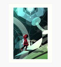 Caperucita roja Art Print