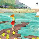 Kimmeridge Bay by Maria Burns