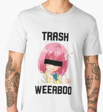 weeaboo - trash Men's Premium T-Shirt