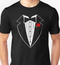 Rose Tuxedo T-Shirt Unisex T-Shirt