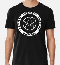 Pentagramm mit trinity Symbol. Premium T-Shirt