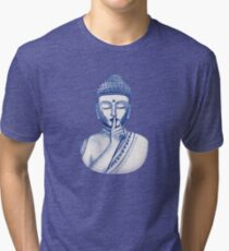 Shh ... do not disturb - Buddha  Tri-blend T-Shirt