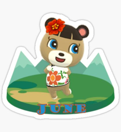 Animal Crossing Pocket Camp June Announce Sticker