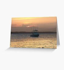 The Fishing Boat Returns Greeting Card