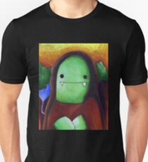Monster Lisa (#001 of the Monster Imitates Art Collection) T-Shirt
