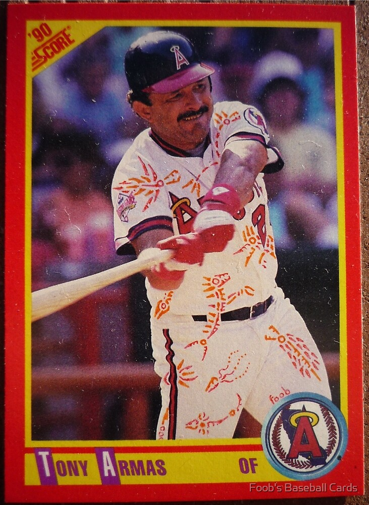 386 - Tony Armas by Foob's Baseball Cards