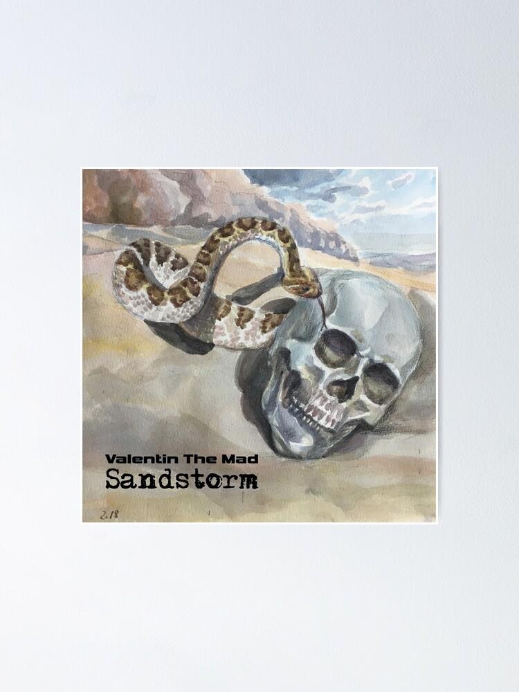 Alternate view of Sandstorm artwork Poster