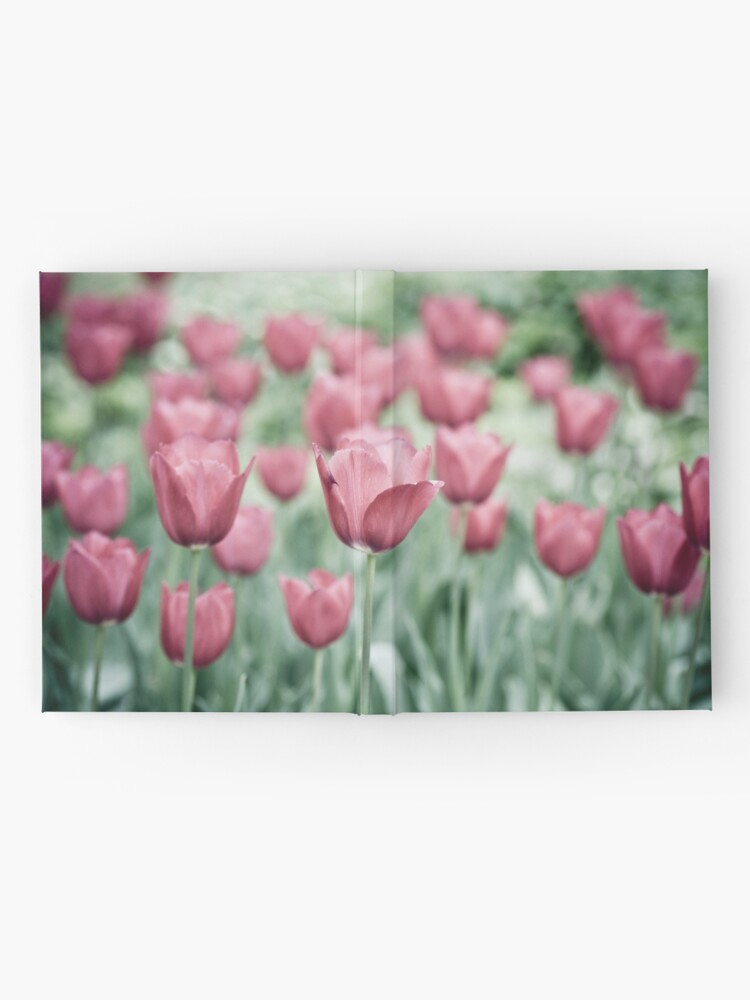 Alternate view of Pink Tulip Field Hardcover Journal