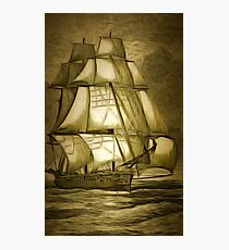 Her Majesty's Ship Bacchante 1876 Photographic Print