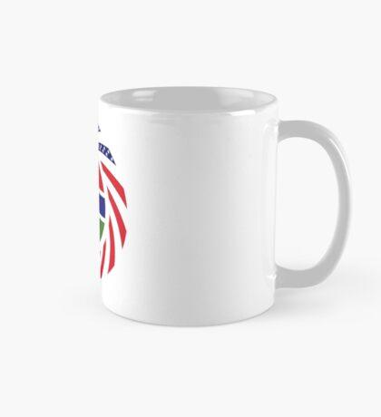 Gambian American Multinational Patriot Flag Series Mug