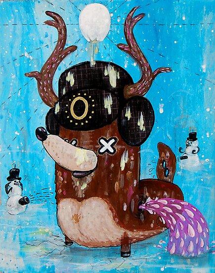 No Eye Deer by Chris Brett