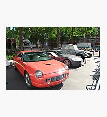 Spy cars in action 007 Photographic Print
