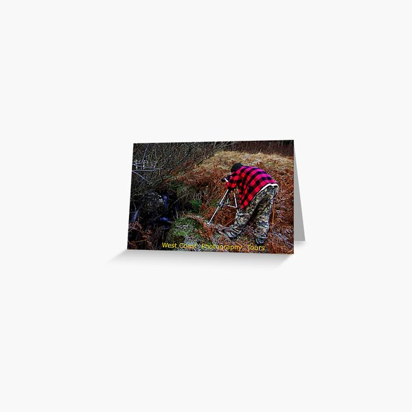 West Coast Photography Tours Greeting Card