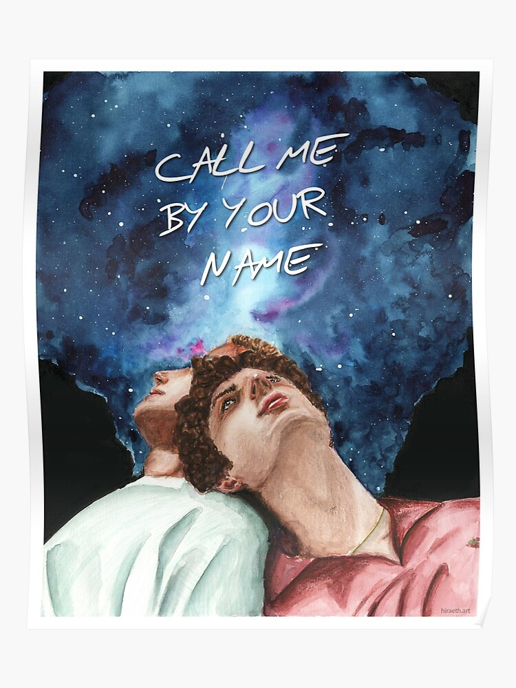 Call Me By Your Name - Stars | Poster