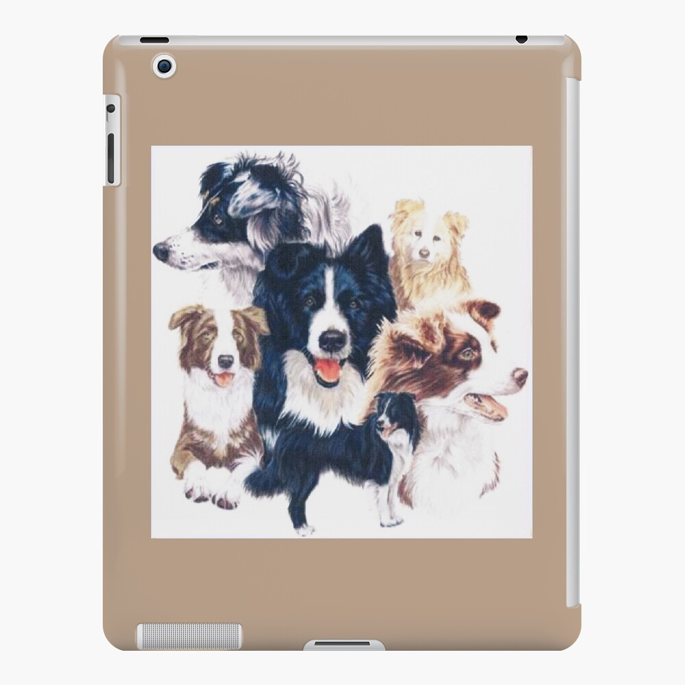 Border Collie Montage iPad Case & Skin
