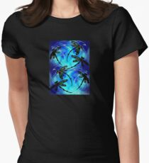 """Dragonfly Flit """"Electric Blue"""" T-Shirt"""