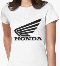 Honda Flügel Tailliertes T-Shirt für Frauen