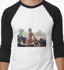 Goatherder Men's Baseball ¾ T-Shirt