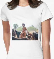 Goatherder Women's Fitted T-Shirt