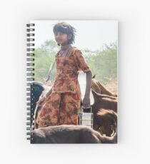 Goatherder Spiral Notebook