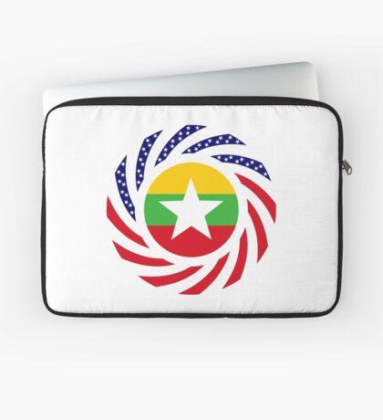 Myanmar American Multinational Patriot Flag Series Laptop Sleeve