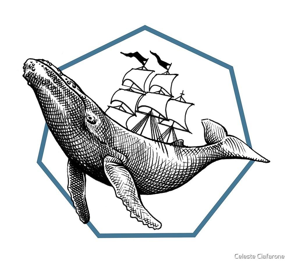 Blauwal von Celeste Ciafarone