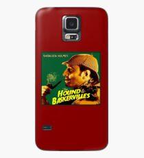 SHERLOCK HOLMES : Vintage Hound of the Baskervilles Print Case/Skin for Samsung Galaxy