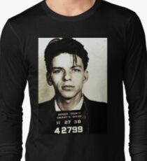 Mugshot Collection - Frank Sinatra Long Sleeve T-Shirt