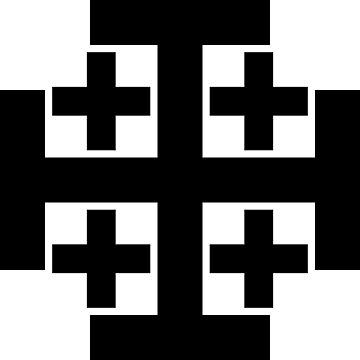 Jerusalem cross by Trinity98