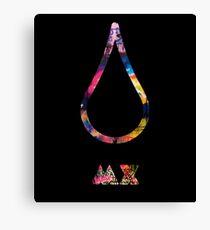 Coldplay Every Tear MX Canvas Print