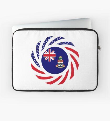 Caymanian American Multinational Patriot Flag Series Laptop Sleeve