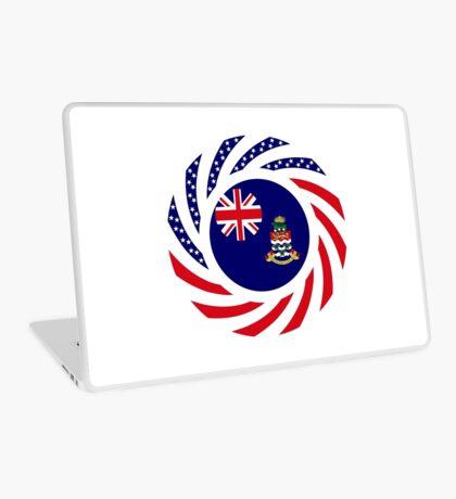 Caymanian American Multinational Patriot Flag Series Laptop Skin