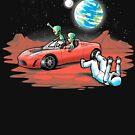 Space car by trheewood