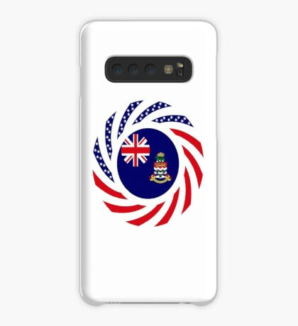 Caymanian American Multinational Patriot Flag Series Case/Skin for Samsung Galaxy