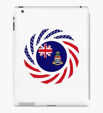 Caymanian American Multinational Patriot Flag Series iPad Case/Skin