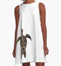 Turtle A-Line Dress