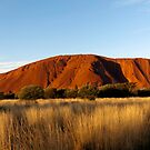 Evening view of Uluru, Uluṟu–Kata Tjuṯa National Park, Northern Territory, Australia  by John Gaffen