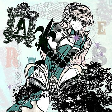 ARIES HEADPHONE GIRL by Chandelina