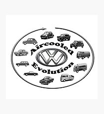 Aircooled VW - Evolution Photographic Print