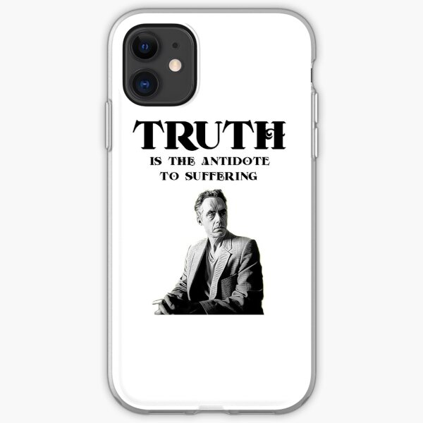 Truth - Jordan Peterson iPhone Soft Case