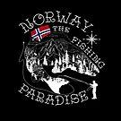 Norway fishing paradise black von tattoofreak