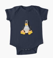 Linux Tux One Piece - Short Sleeve