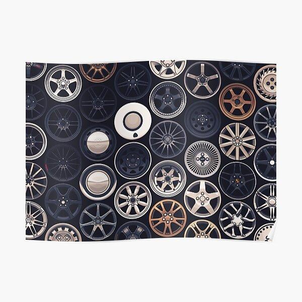 Wheels Wheels Wheels Poster