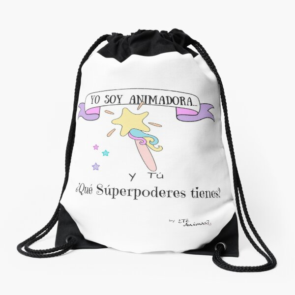 Para Animadoras Súper Poderosas Mochila saco