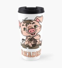 Bernadette Piggy Travel Mug
