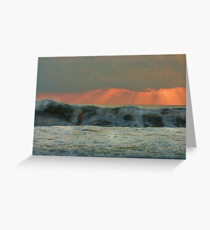 The Last Wave Greeting Card