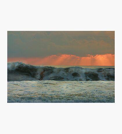 The Last Wave Photographic Print