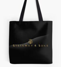 Vintage STEINWAY & SONS Advertisement Tote Bag